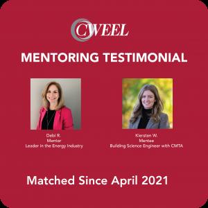 Cweel mentoring pair